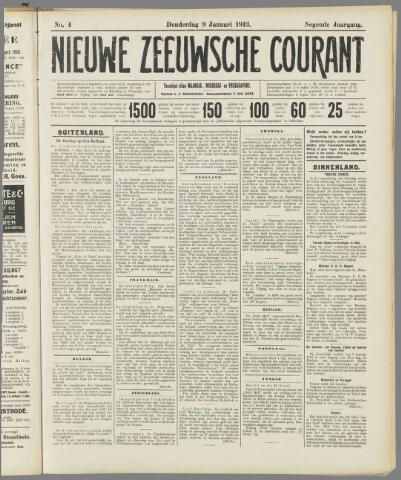 Nieuwe Zeeuwsche Courant 1913-01-09