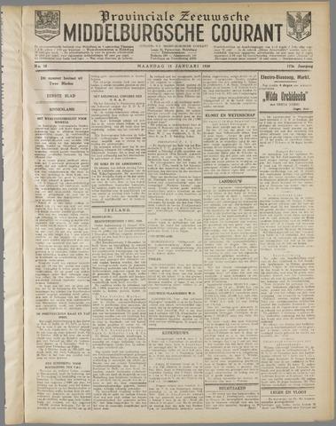 Middelburgsche Courant 1930-01-13