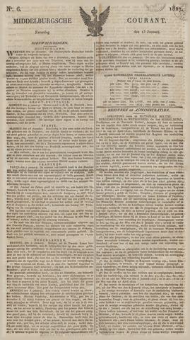 Middelburgsche Courant 1827-01-13