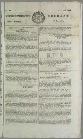Zierikzeesche Courant 1824-12-09