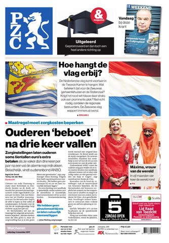 Provinciale Zeeuwse Courant 2017-11-04