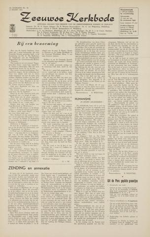 Zeeuwsche kerkbode, weekblad gewijd aan de belangen der gereformeerde kerken/ Zeeuwsch kerkblad 1964-03-13