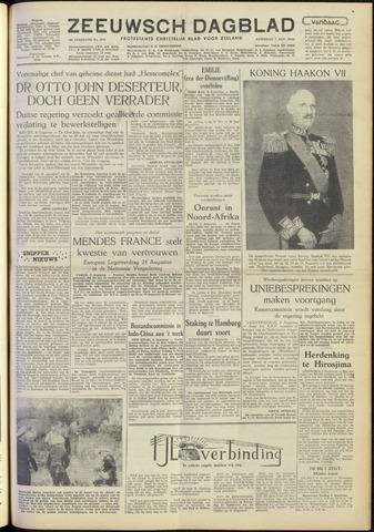Zeeuwsch Dagblad 1954-08-07