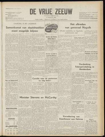 de Vrije Zeeuw 1954-02-26