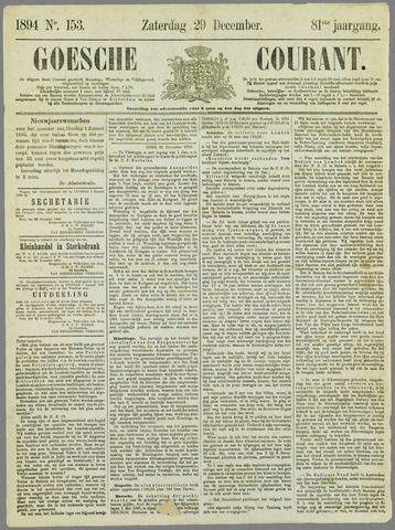 Goessche Courant 1894-12-29