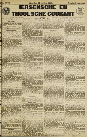 Ierseksche en Thoolsche Courant 1923-10-13