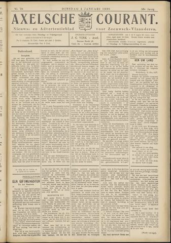 Axelsche Courant 1938-01-04