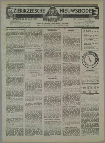Zierikzeesche Nieuwsbode 1937-01-30