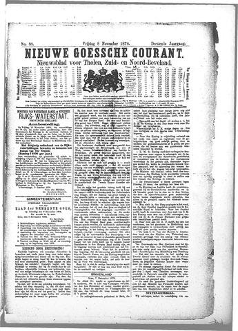 Nieuwe Goessche Courant 1878-11-08