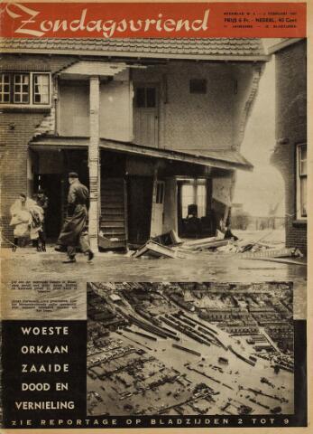 Watersnood documentatie 1953 - tijdschriften 1953-02-05