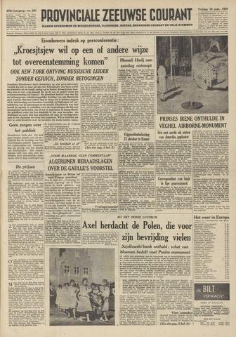 Provinciale Zeeuwse Courant 1959-09-18