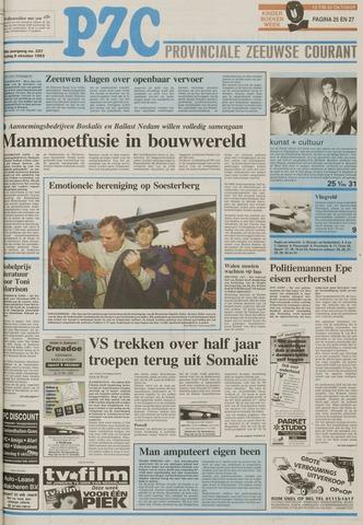 Provinciale Zeeuwse Courant 1993-10-08