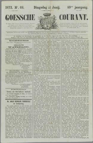 Goessche Courant 1872-06-11