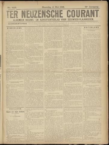 Ter Neuzensche Courant. Algemeen Nieuws- en Advertentieblad voor Zeeuwsch-Vlaanderen / Neuzensche Courant ... (idem) / (Algemeen) nieuws en advertentieblad voor Zeeuwsch-Vlaanderen 1928-05-21