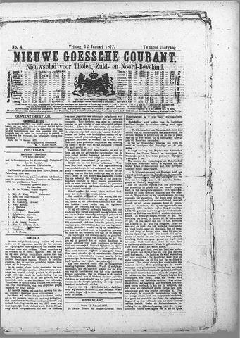 Nieuwe Goessche Courant 1877-01-12