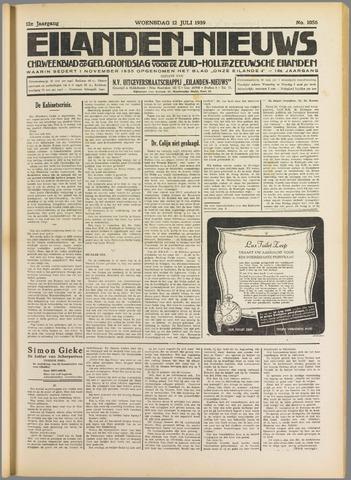 Eilanden-nieuws. Christelijk streekblad op gereformeerde grondslag 1939-07-12