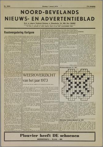 Noord-Bevelands Nieuws- en advertentieblad 1974