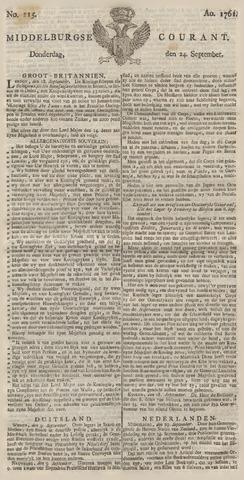 Middelburgsche Courant 1761-09-24
