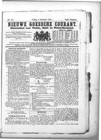 Nieuwe Goessche Courant 1870-12-09