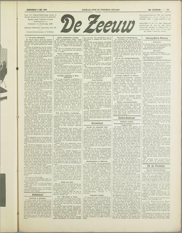 De Zeeuw. Christelijk-historisch nieuwsblad voor Zeeland 1934-05-03