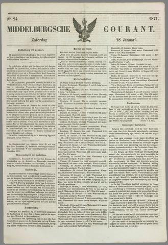 Middelburgsche Courant 1871-01-28