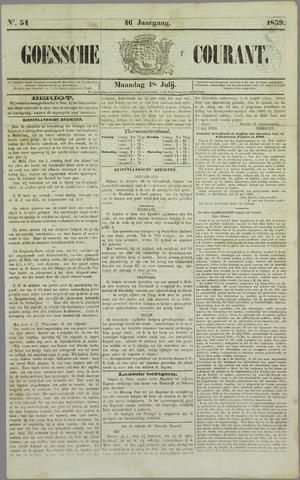 Goessche Courant 1859-07-18