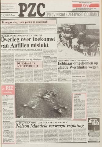 Provinciale Zeeuwse Courant 1985-02-11