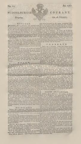 Middelburgsche Courant 1762-02-16