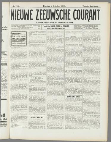 Nieuwe Zeeuwsche Courant 1906-10-02