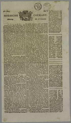 Goessche Courant 1822-01-28