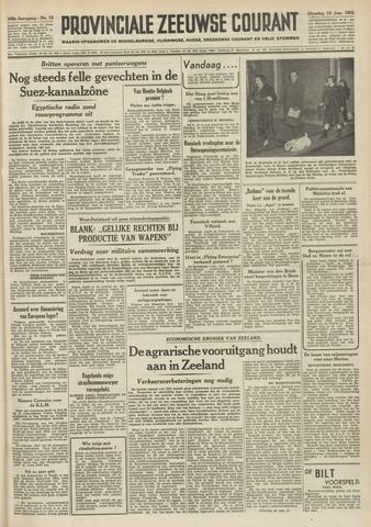 Provinciale Zeeuwse Courant 1952-01-15