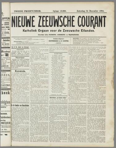 Nieuwe Zeeuwsche Courant 1904-12-24