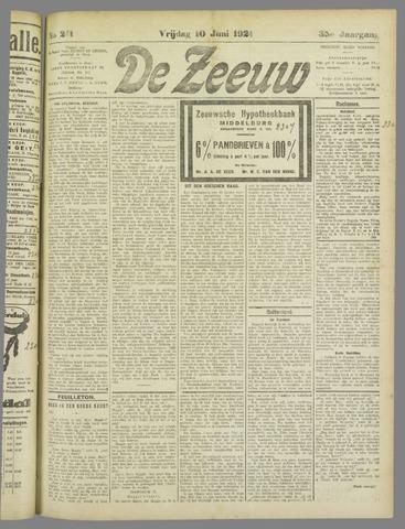 De Zeeuw. Christelijk-historisch nieuwsblad voor Zeeland 1921-06-10