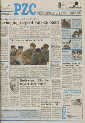 Provinciale Zeeuwse Courant 1991-11-11