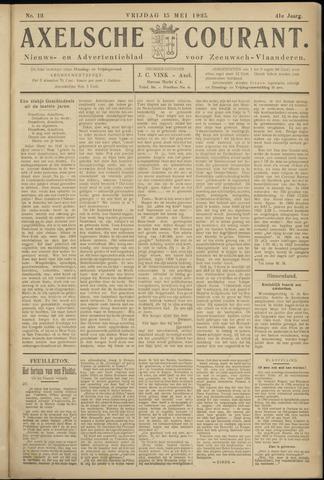 Axelsche Courant 1925-05-15