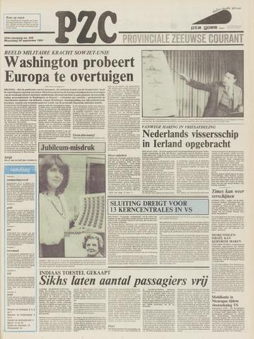 Provinciale Zeeuwse Courant 1981-09-30
