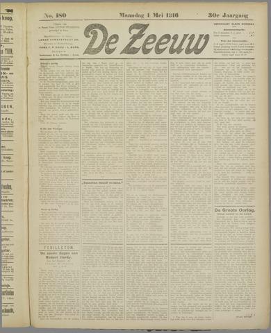 De Zeeuw. Christelijk-historisch nieuwsblad voor Zeeland 1916-05-01