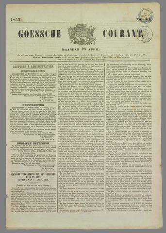 Goessche Courant 1853-04-18