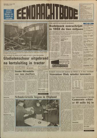 Eendrachtbode (1945-heden)/Mededeelingenblad voor het eiland Tholen (1944/45) 1988