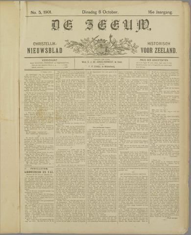 De Zeeuw. Christelijk-historisch nieuwsblad voor Zeeland 1901-10-08