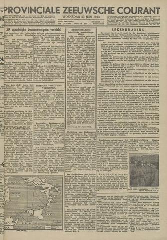 Provinciale Zeeuwse Courant 1943-06-23