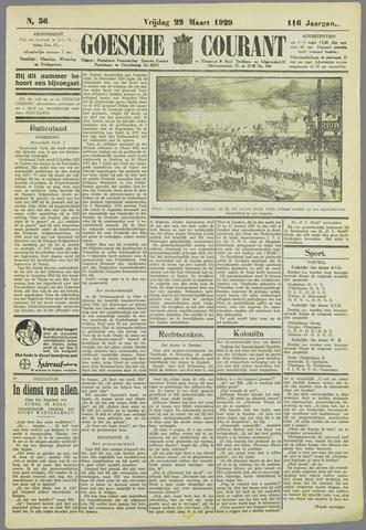 Goessche Courant 1929-03-22