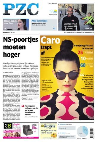 Provinciale Zeeuwse Courant 2015-05-05