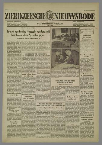 Zierikzeesche Nieuwsbode 1958-11-11