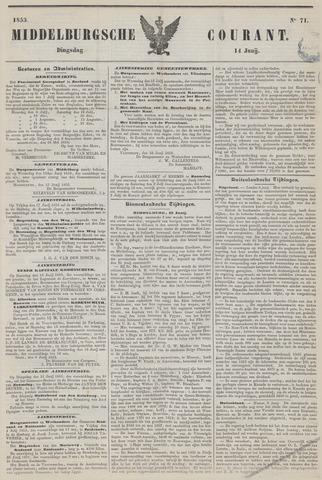 Middelburgsche Courant 1853-06-14