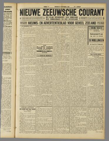 Nieuwe Zeeuwsche Courant 1929-09-24