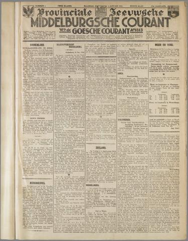 Middelburgsche Courant 1933