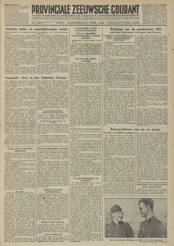 Provinciale Zeeuwse Courant 1942-04-09