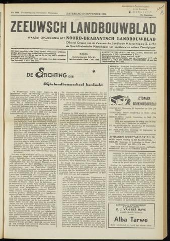 Zeeuwsch landbouwblad ... ZLM land- en tuinbouwblad 1951-09-15