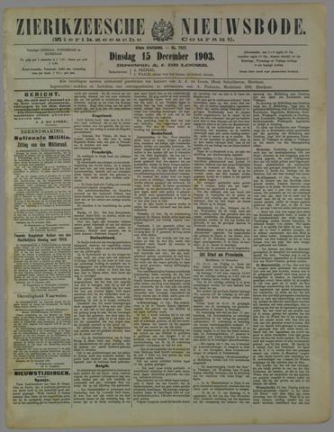 Zierikzeesche Nieuwsbode 1903-12-15